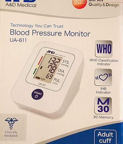 misurare la pressione del sangue ora è semplice grazie agli ausili venduti da Ortopedia Gandossi a Rovato